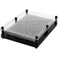 Incutex pin art 3D XXL sculpture clous 3D tableau planche à clous pinpression empreinte main clous 22x15x4cm