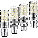 Yiun LED B22 de maïs Bulbs12W, 100W Incandescent équivalent, 1200lm, blanc froid 6000K ampoules Chandelier, Bougie décorative