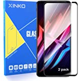 XINKOE [2-Pack] Screen Protector for Nubia Red Magic 6/6 Pro, Ultra slim HD 2.5D Pro-Fit Premium Tempered Glass Screen Protec