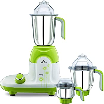 Buy Bajaj Twister 750 Watt Mixer Grinder With 3 Jars White Online