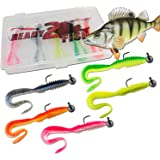 Ready 2 Fish Shockwave Shad with Box Rubber Fish Set With Box Lures