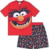 The Muppets Animal Mens Pyjamas Short Loungewear Retro Official Gift