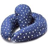 Niimo Cuscino Gravidanza e Allattamento per Dormire di lato con Cuscino Piccolo Multifunzionale Federa Esterna 100…