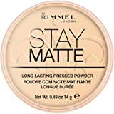 Rimmel London Stay Matte Langhoudend, geperst poeder, transparant
