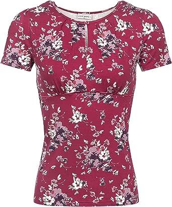 Vive Maria Mon Amour Shirt Donna T-Shirt Rosso Regular