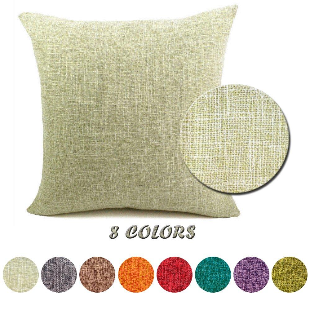 J t federe per cuscini moda vintage di cotone lino divano - Federe cuscini divano ...