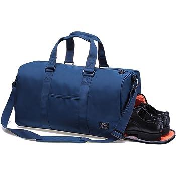 546685b338761 Sporttasche Gym Bag Tasche Herren Damen Reisetasche Dufflebag Kaukko  stilvolle Fitness Tasche Weekend Reisetasche mit Separaten