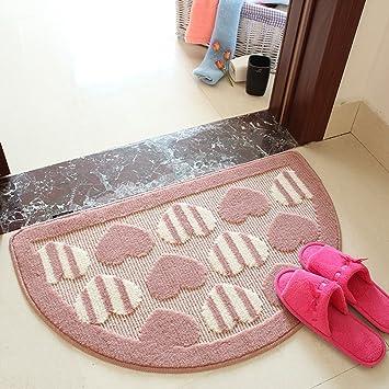 Amazonde Wohnzimmer Teppich Halbkreis Pad Computer Kissen Couchtisch Matte