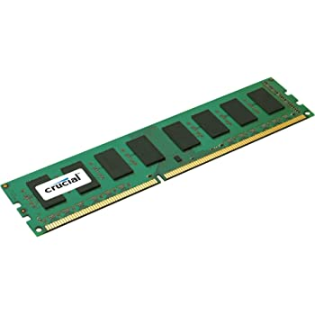 Crucial Memoria RAM, da 2 GB, 240-pin DIMM, DDR3, PC3-12800, 1600 MHz, Data Integrity Check (verifica integrità dati)