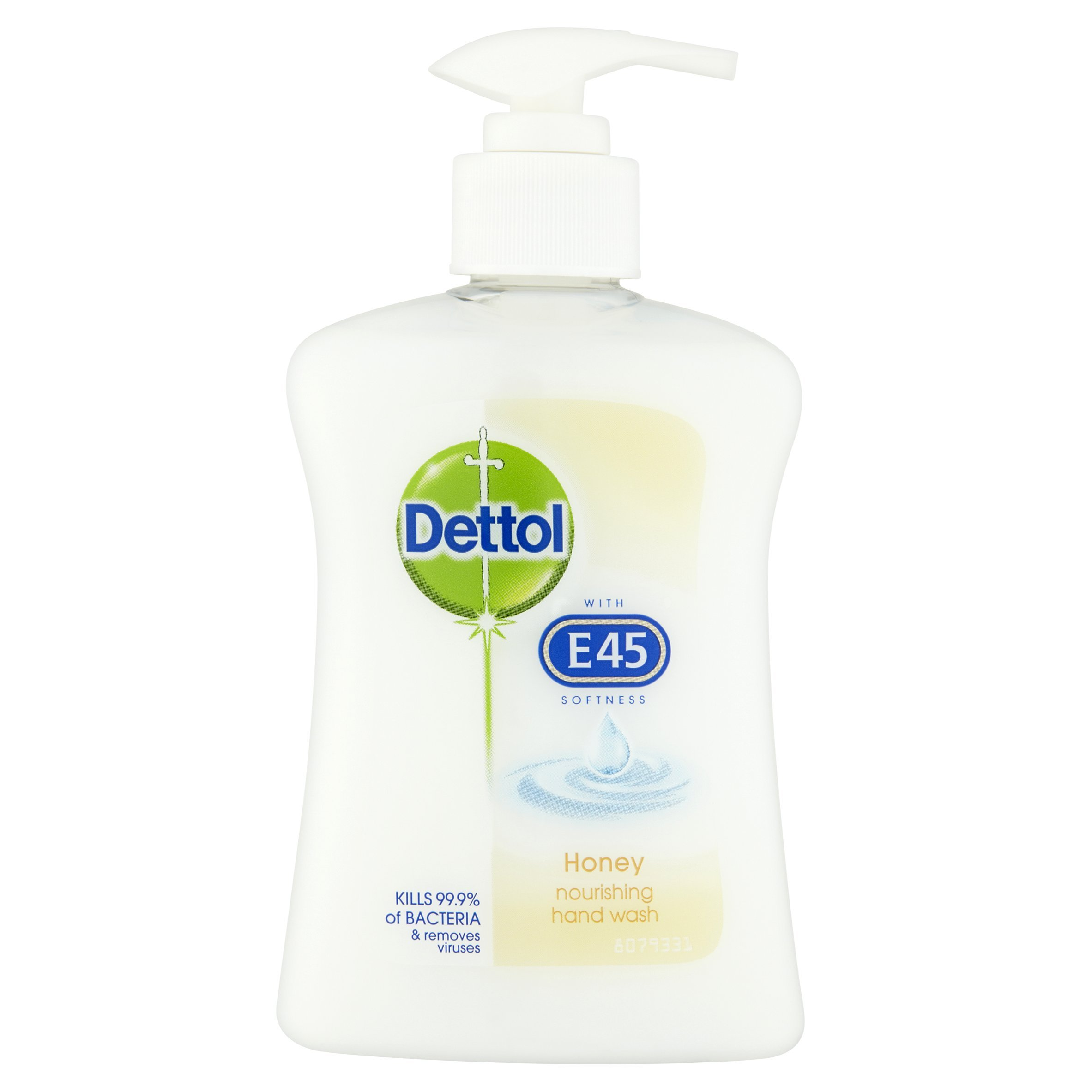 Dettol with E45 Handwash – Honey, 250 ml