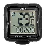 M-Wave Fahrradcomputer XIV Silicon, Schwarz, 11112