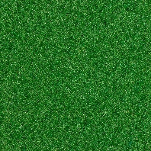 Kunstrasen Rasenteppich mit Noppen   133, 200, und 400 cm Breite   verschiedene Größen   Höhe ca. 7,5mm   hell-grün   Größe: 7 x 4 m