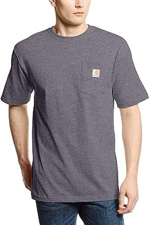Carhartt Men's Workwear Pocket Short-sleeve T-shirt Work Utility