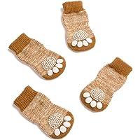 Pet Heroic Indoor Anti-Rutsch Socken für Hunde und Katzen - 8 Größen von S bis 5XL für kleine-riesige Tiere…