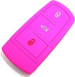 Schlüssel Hülle Vc Für 3 Tasten Auto Schlüssel Silikon Elektronik