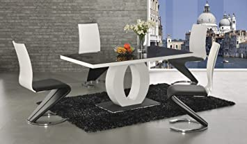Halo High Gloss Glass Dining Table