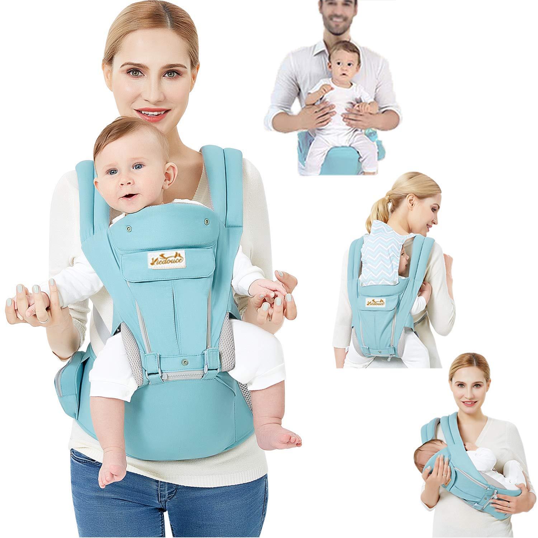 Izmi Breeze Infant Baby Carrier Cotton Mesh Midnight Blue 0-15kg Multi Position