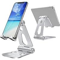 Blukar Support Téléphone/Tablette, Support Téléphone Bureau Portable Porte Téléphone Réglable Pliable Support Dock…