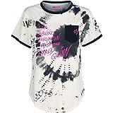 Birds of Prey Harley Quinn Mujer Camiseta Negro/Gris, Regular