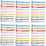 Holibanna 100 Pièces Anti Perdu ID Bracelet Enfants Sécurité ID Bracelet D' Identification Réutilisable Bracelets Réglable Ét