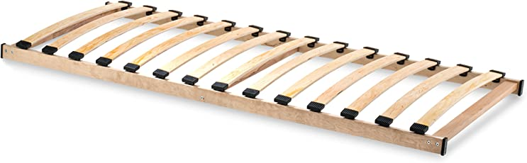 Home Collection24 GmbH HomeBett-Soft Lattenrost 80x200 cm NV, Geeignet für alle Matratzen, Komfort Lattenrost mit 14 hochelastische Federholzleisten