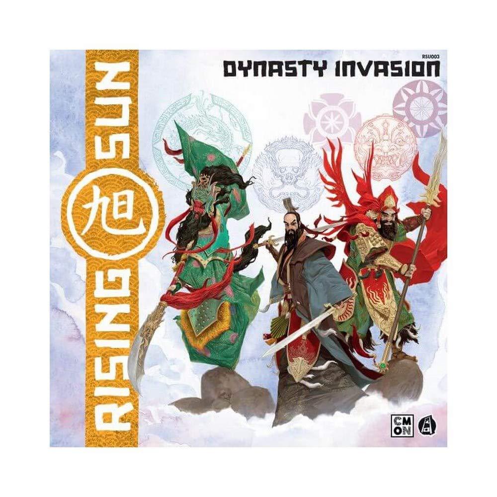 Asmodee- Rising Sun Dynasty Invasion – Expansión de Juego de Mesa con Hermosas miniaturas, Color 10302