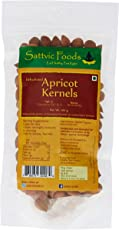 Sattvic Foods Organic Sweet Apricot Kernels, 100g