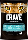 Crave Katzenfutter Trockenfutter Adult 1+ Mit Lachs & Weißfisch, 5 Beutel (5 x 750 g), 3750 g