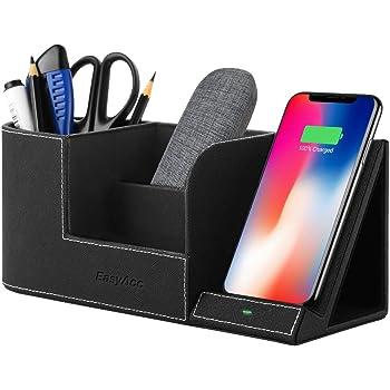 EasyAcc Chargeur sans fil Qi-certified Induction Charger Plus Desk Boîte de rangement 3