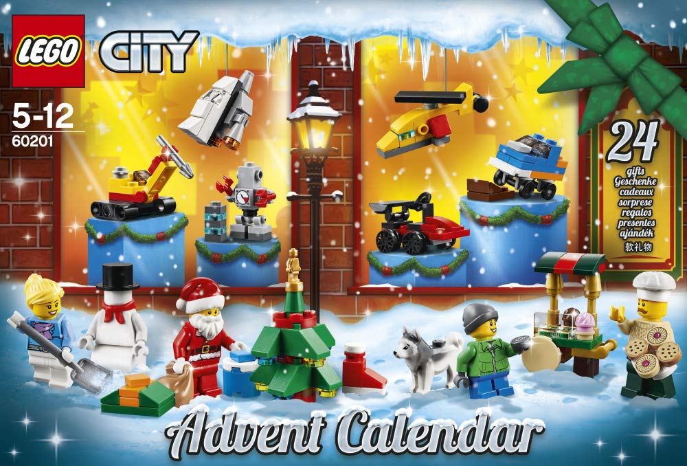 LEGO- City Calendario dell'Avvento OUS, Colore Various, 60201 5 spesavip
