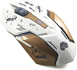Mobile Gear XM-502 Wired Gaming Mouse (White) - Integrated 2500 dpi Optical Gaming Sensor