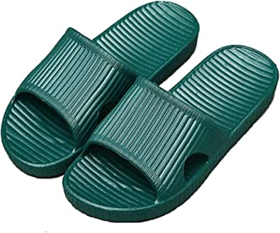 Women and Men Anti-Slip Slippers Indoor Use Outdoor Bath Sandal Soft Foam Sole Pool Shoes House Home Slide
