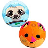 Toyshine Edu-Sports 2 in 1 Kids Football Soccer Educational Toy Ball, Size 3, 4-8 Years Kids Toy Gift Sports - Fox and…