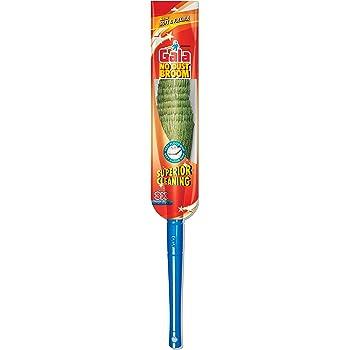 Gala No Dust Fibre and Plastic Floor Broom, Blue