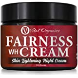 Vital Organics Fairness Cream For Skin Whitening & Lightening For Men & Women (Night Cream)