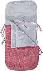 Baby's Only 163330 Fußsack für Babyschale 0+ Robust Korn framboise