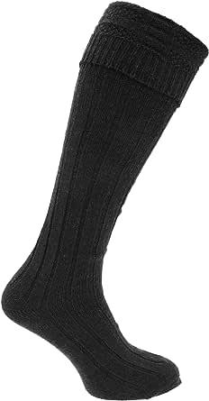 Mens Scottish Highland Wear Wool Kilt Hose Socks (1 Pair)