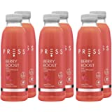 Press, Berry Boost, 6 x 500ml, Cold Pressed Juice, Juice containing Strawberry, Apple, Lemon and Mint, Refreshing and…