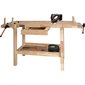Lumberjack Wb1490 Woodworking Bench 1490mm Long Work Top Area