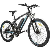ANCHEER Elektrofahrrad für Erwachsene, 27,5 Zoll Elektro-Mountainbike mit 36 V 10 Ah Li-Ionen-Akku und 7/21-Gang…