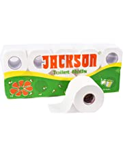 Jackson Toilet Tissue Paper Roll - Pack of 10 Rolls - 270+ Pulls/Roll GUARANTEED!