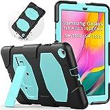 Funda para Samsung Galaxy Tab A 10.1 2019 (SM-T510/SM-T515), SEYMAC Heavy Duty Rugged Full Body a Prueba de Golpes con funció
