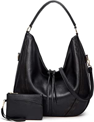 Large Hobo Bags for women,Multiple pockets Top-handle and Crossbody Bags, Classic Handbags with Tassel, Tote Purses
