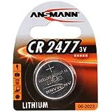 2er Set: ANSMANN 1516-0010 Knofpzelle Batterie Lithium CR 2477 - 3V