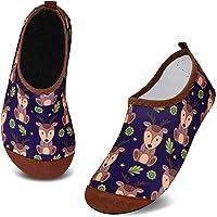 HMIYA Kids Beach Shoes Anti Slip Swim Water Shoe Toddler Quick Dry Boys Girls Aqua Socks for Outdoor Pool Surfing Yoga…