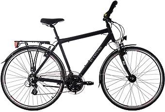 "KS Cycling Trekkingrad Herren 28"" Norfolk 24 Gang schwarz RH 56 cm Multipositionslenker Fahrrad"