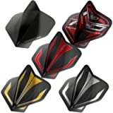 RED DRAGON Hardcore Selection Pack Extra Thick Standard Dart Flights