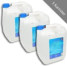HSM 3 x AdBlue AD Blue Diesel Abgasreinigung Harnstofflösung 10 Liter Kanister