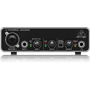 Behringer UMC22 Computer Audio Interface