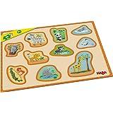 Haba 302838 Meine ersten Rahmenpuzzles – Tierkinder